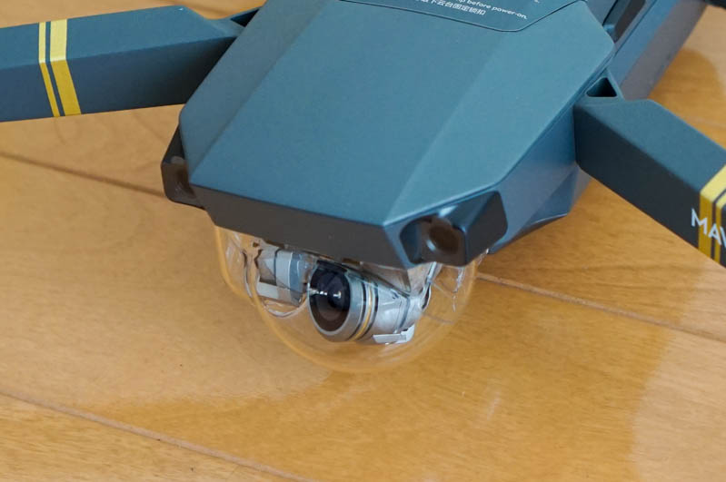 Mavic Proカメラカバーとジンバルクランプ