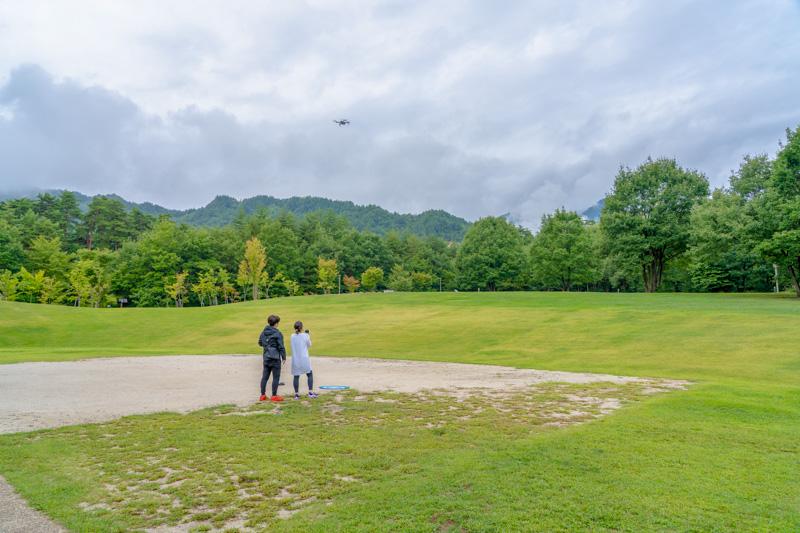 国営アルプスあづみの公園(大町松川地区)