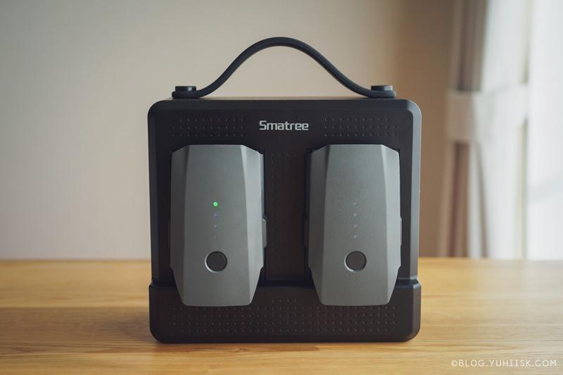 【ドローン】屋外での充電にSmatreeの充電器がめちゃくちゃ使える件